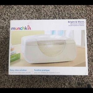 Munchkin wipe warmer & nightlight